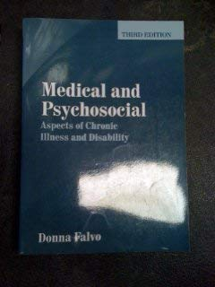 9780763757663: Medical And Psychosocial Aspects Of Chronic Illness And Disability