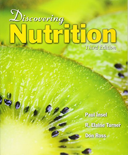 Discovering Nutrition 9780763758738 Discovering Nutrition, Third Edition is a student-friendly introduction to nutrition on a non-majors level. Coverage of material such as