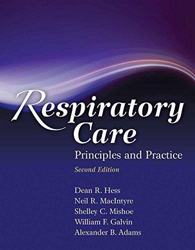 9780763760038: Respiratory Care: Principles and Practice