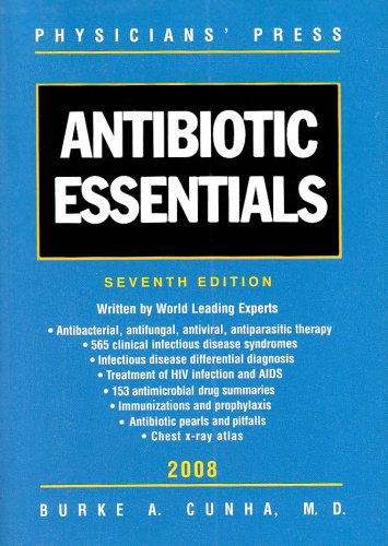 9780763761189: Antibiotic Essentials 2008