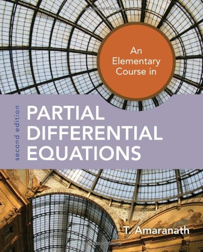 9780763762445: An Elementary Course in Partial Differential Equations