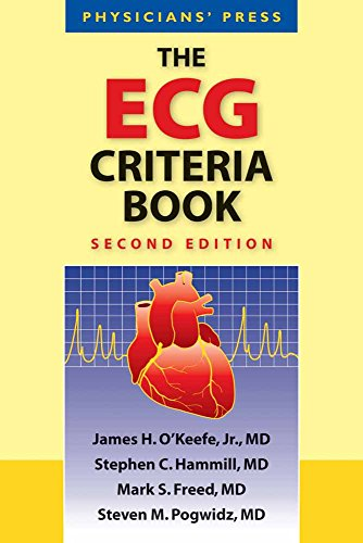 ECG Criteria Book: Physicians Press: Stephen C. Hammill