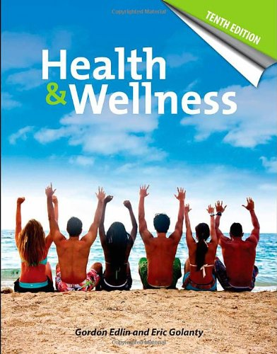 Health And Wellness 9780763765934 The 10th edition of Health & Wellness provides a holistic view of what it really means to be healthy today. The text draws a parallel between the behaviors, social and physical environment as well as the positive mind and body attitude necessary to achieve a healthy, happy lifestyle. Several features have been developed to help students learn and understand the concepts of health and wellness in the text such as Learning Objectives, Self-assessments, key terms, epigrams and health tips. Chapters conclude with Critical Thinking about Health and encourage students to answer questions and explore their own opinions on health topics. End of chapter material includes Health in review – brief review of the chapter, Health and Wellness online a glimpse at the resources available on the web, References, Suggested readings, and recommended websites. New to the Tenth Edition: ? Study data about the effect of prayer on healing and managing stress with music ? Expanded coverage of Vitamin D deficiency and food additives ? Coverage of the sedentary lifestyle of most Americans and what constitutes physical activity\ ? Discussions on bacteria and health as well as coverage of new vaccines for HPV, herpes zoster and hepatitis E ? New information on the swine flu pandemic of 2009 Resources: Workbook for self-assessments and activities to explore health Frequently updated Health statistics website
