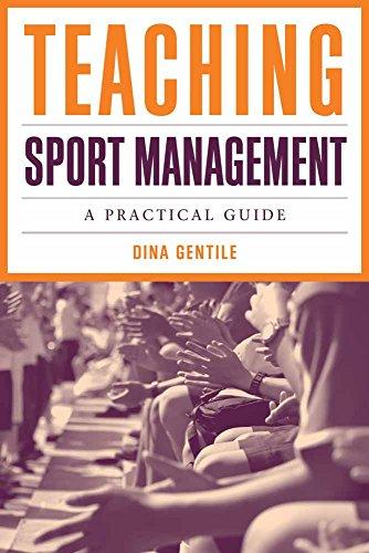9780763766726: Teaching Sport Management: A Practical Guide