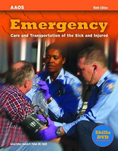 9780763771423: Emergency: Care and Transportation of the Sick and Injured