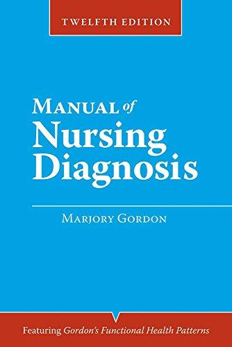 9780763771850: Manual of Nursing Diagnosis