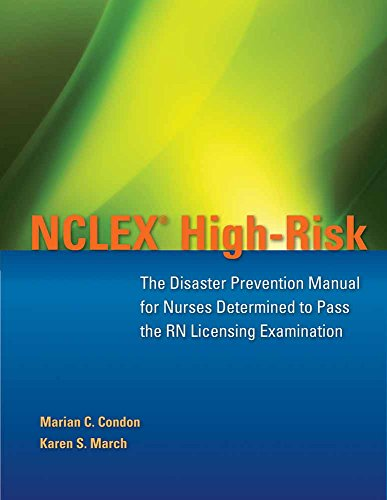 9780763773397: NCLEX High-risk: The Disaster Prevention Manual for Nurses Determined to Pass the RN Licensing Examination