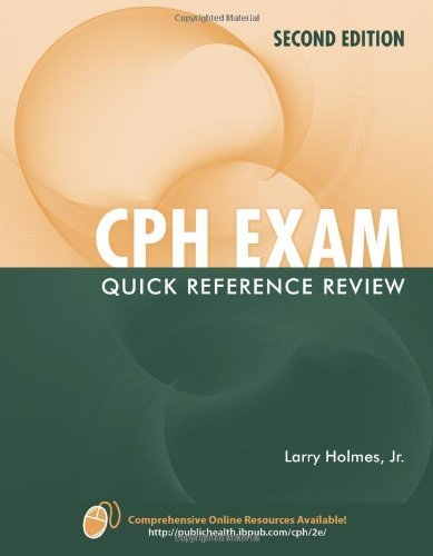 9780763774752: CPH Exam Quick Reference Review