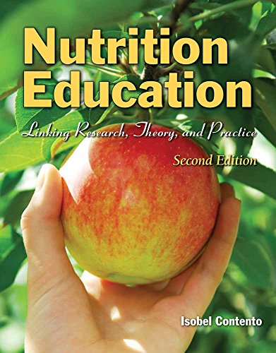9780763775087: Nutrition Education: Linking Research, Theory, and Practice