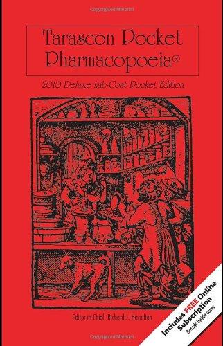 9780763777708: Tarascon Pocket Pharmacopoeia 2010 Deluxe Lab-Coat Edition (Tarascon Pocket Pharmacopoeia: Deluxe Lab-Coat Pocket)