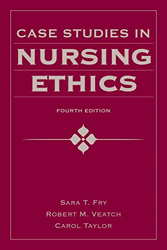Case Studies in Nursing Ethics (Fry, Case Studies in Nursing Ethics) 9780763780319 As the healthcare professional in closest contact with both the patient and the physician, nurses face biomedical ethical problems in un