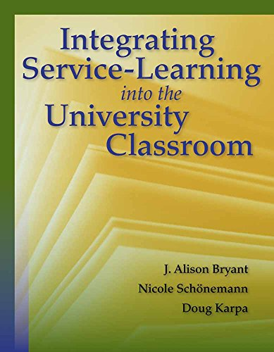 9780763780753: Integrating Service-Learning into the University Classroom