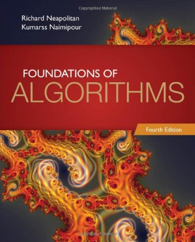 9780763782504: Foundations of algorithms