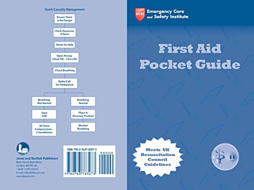 9780763783273: Police First Aid Pocket Guide