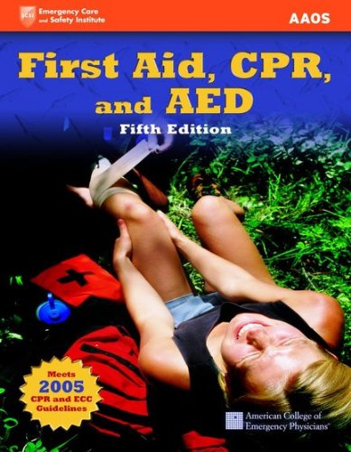9780763783303: First Aid, CPR, And AED (Academic Version) (First Aid and CPR: Web Enhanced Edition)