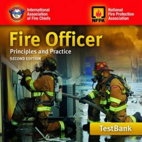 9780763784621: Tb- Fire Officer 2e: P&p Instructor's Test Bank CD-ROM