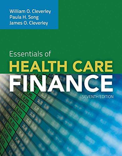 9780763789299: Essentials of Health Care Finance