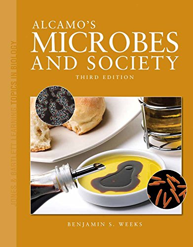 9780763790646: Alcamo's Microbes and Society (Jones & Bartlett Learning Topics in Biology Series)