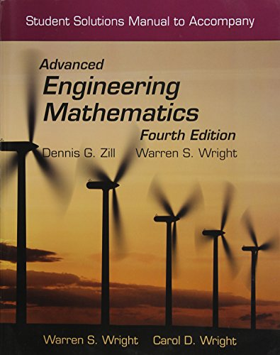Student Solutions Manual To Accompany Advanced Engineering: Wright, Warren S.