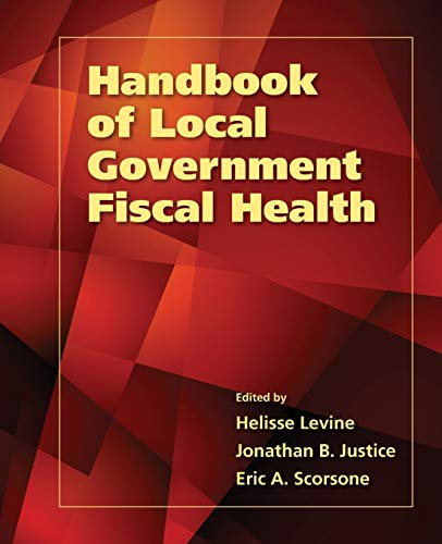 Handbook Of Local Government Fiscal Health: Helisse Levine