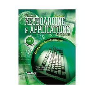 9780763801472: Paradigm Keyboarding and Applications: Sessions 1-60 : Student Software Package