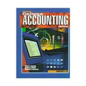 Paradigm College Accounting: Chapters 1-29, 4th: Dansby, Robert L.; Kaliski, Burton S.; Lawrence, ...