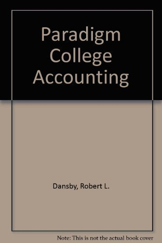 College Accounting : Study Guide and Working: Michael D. Lawrence;