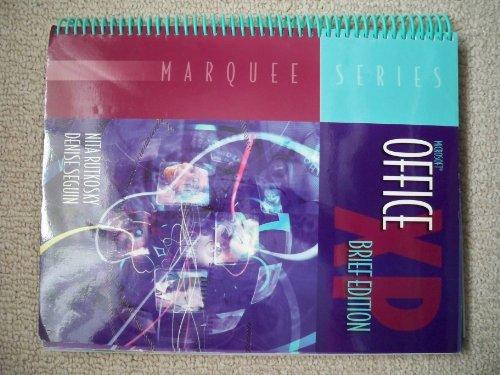 Microsoft Office XP (Marquee Series): Nita Hewitt Rutkosky,
