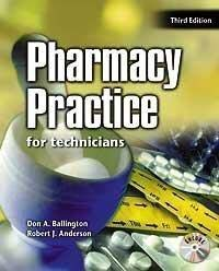 9780763822231: Pharmacy Practice for Technicians