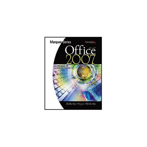 9780763829513: Microsoft Office 2007: With Windows XP - Textbook Only