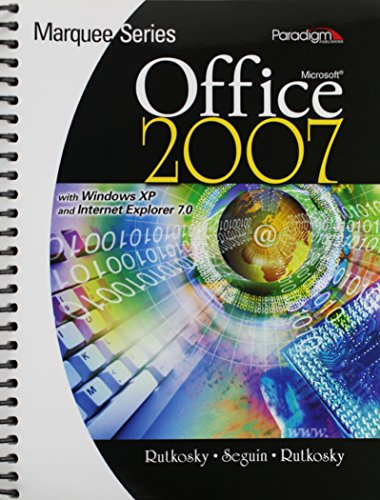 9780763829582: Microsoft Office 2007 : With Windows XP and Internet Explorer 7.0