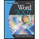 Marquee Series : Microsoft Word 2007 -: Nita Rutkosky