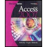 Marquee Series : MS Access 2007 -: Nita Rutkosky