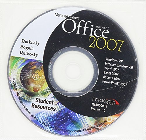 Marquee Series: Microsoft Office 2007 - Windows: Nita Rutkosky