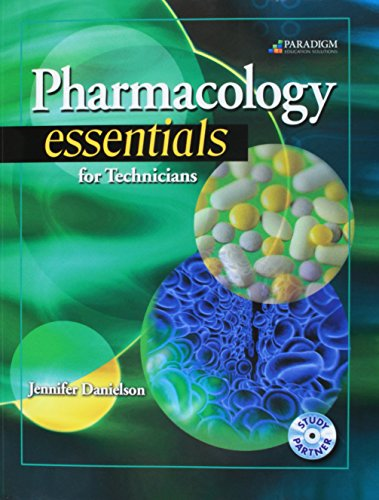 9780763838706: Pharmacology Essentials for Technicians (Pharmacy Technician)