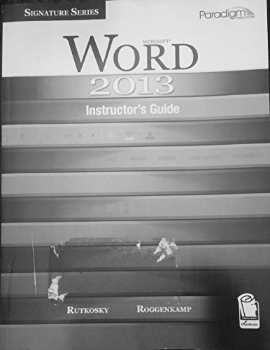 Microsoft Word 2013 (Signature Series)