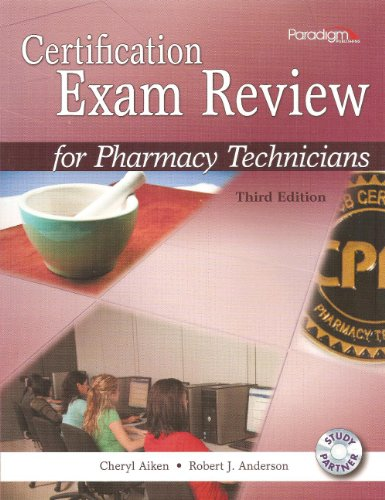 9780763852153: Certification Exam Review for Pharmacy Technicians, 3rd Edition