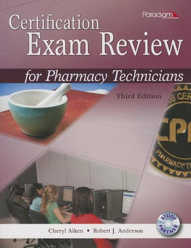9780763852177: Certification Exam Review for Pharmacy Technicians