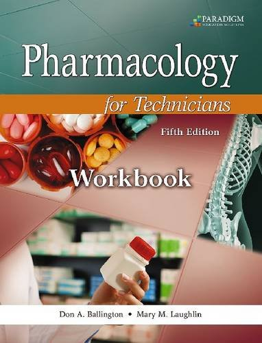 9780763852344: Pharmacology for Technicians