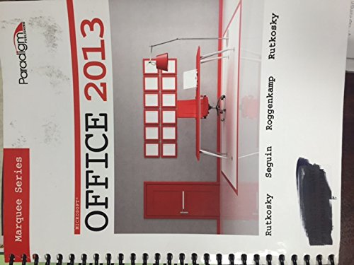 9780763852443: Marquee Series Microsoft Office 2013