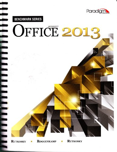 9780763853426: MICROSOFT OFFICE 2013-TEXT