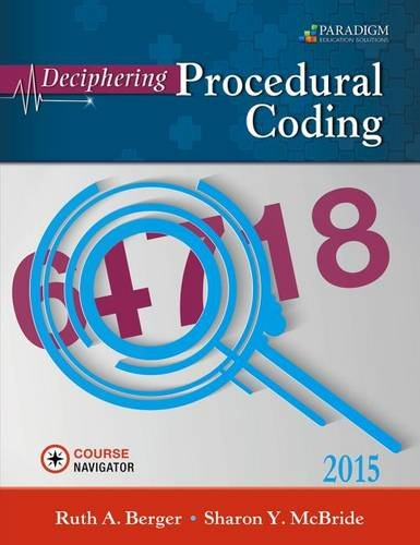 9780763864361: Deciphering Procedural Coding: Text with Course Navigator