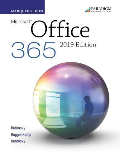 9780763886899: Marquee Office 365 for 2019