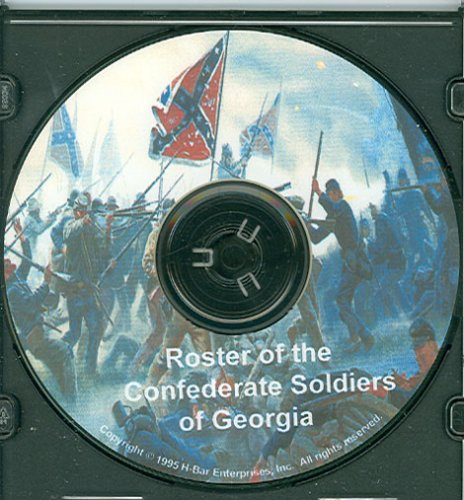 9780763900649: Roster of the Confederate Soldiers of Georgia CD-Rom