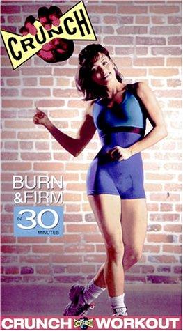 9780764000959: Crunch: Burn & Firm in 30 Minutes [VHS]