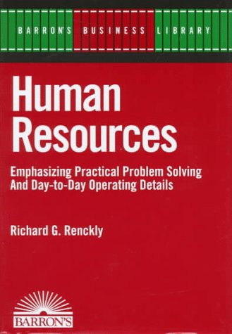 9780764100611: Human Resources (Barron's Business Library)