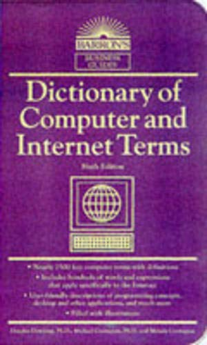9780764100949: Dictionary of Computer and Internet Terms (Barron's Educational Series)