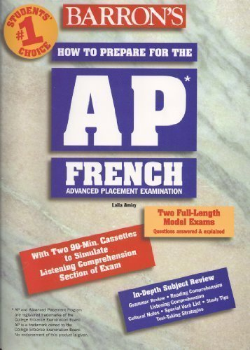 9780764101045: How to Prepare for the Ap French Advanced Placement Examination