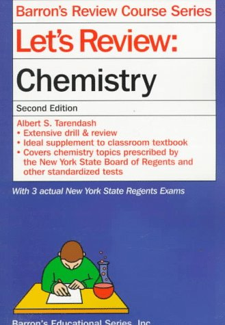 Let's Review: Chemistry (Barron's Review Course) (0764101692) by Albert S. Tarendash