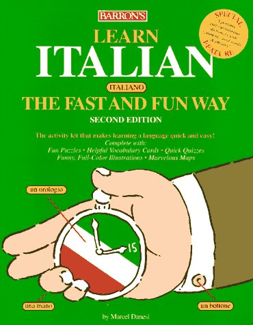 9780764102103: Learn Italian (Italiano) the Fast and Fun Way/With Barron's Italian-English English-Italian Dictionary